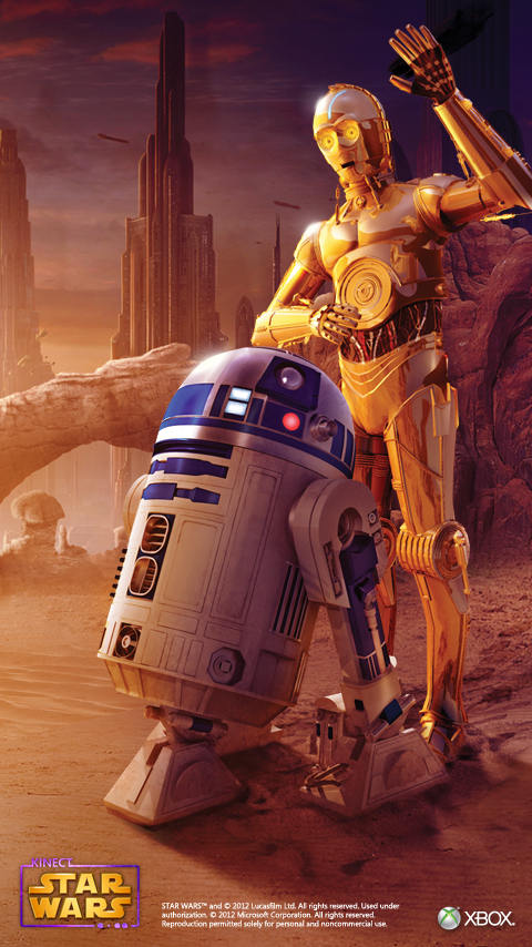 Star Wars - C3PO and R2D2