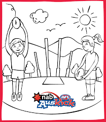 Image result for afl teams colouring pages Football