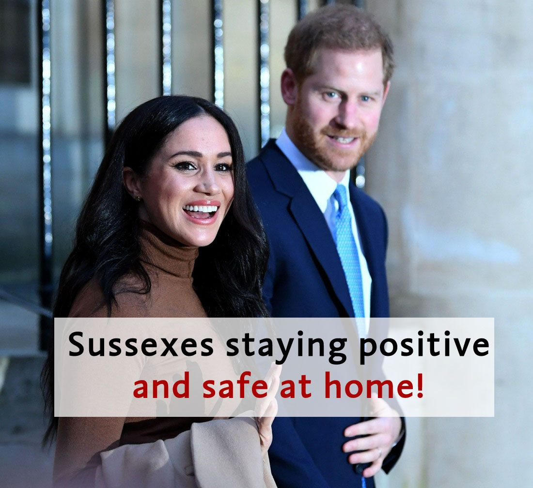 #Sussexes are staying positive and safe at home with #BabyArchie at this difficult time. #PrinceHarry #DuchessMeghan #MeghanMarkle #MeghanandHarry #HarryandMeghan #Royals #DukeofSussex #DuchessofSussex #SussexRoyal #Sussexit #RoyalFamily