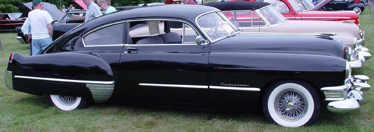 1949 Cadillac Club Coupe FastbackBlack  Cars for my garage