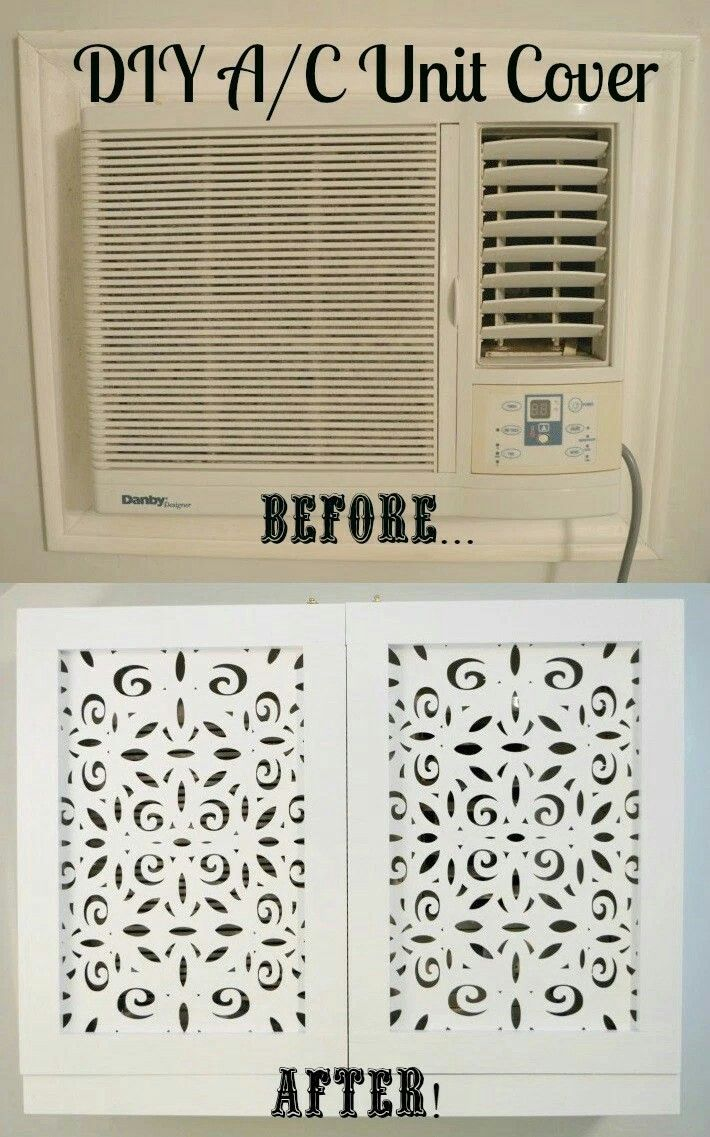 Cover up that unsightly air conditioning unit with