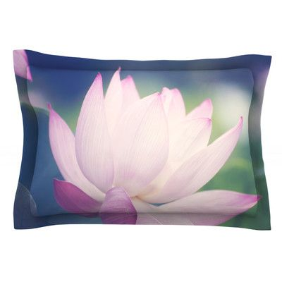 East Urban Home Hope for Tomorrow II by Catherine McDonald Pillow Sham Size: King