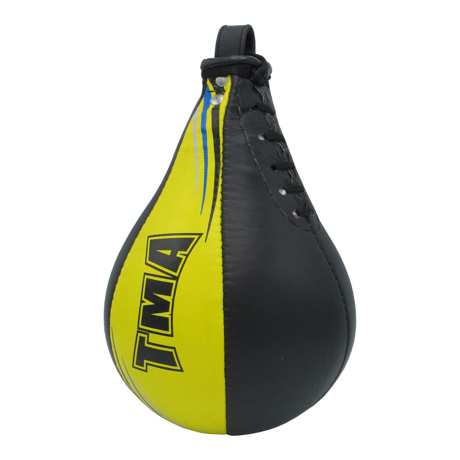 TMA Leather Double End Dodge Speed Ball Boxing Floor to Ceiling Punching Bag MMA
