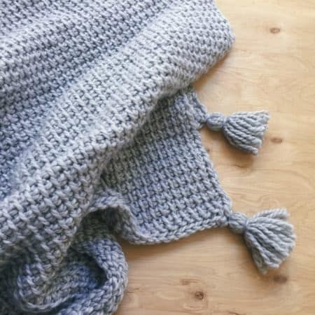 15 Fun Tunisian Crochet Projects to Make This Weekend - Ideal Me #tunisiancrochet