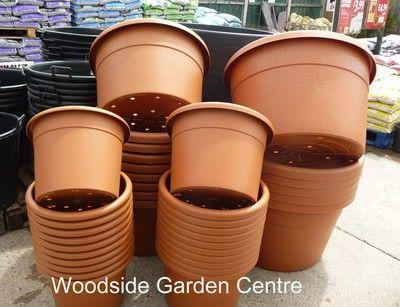Extra 170lt Plastic Terracotta Pot Woodside Garden Centre