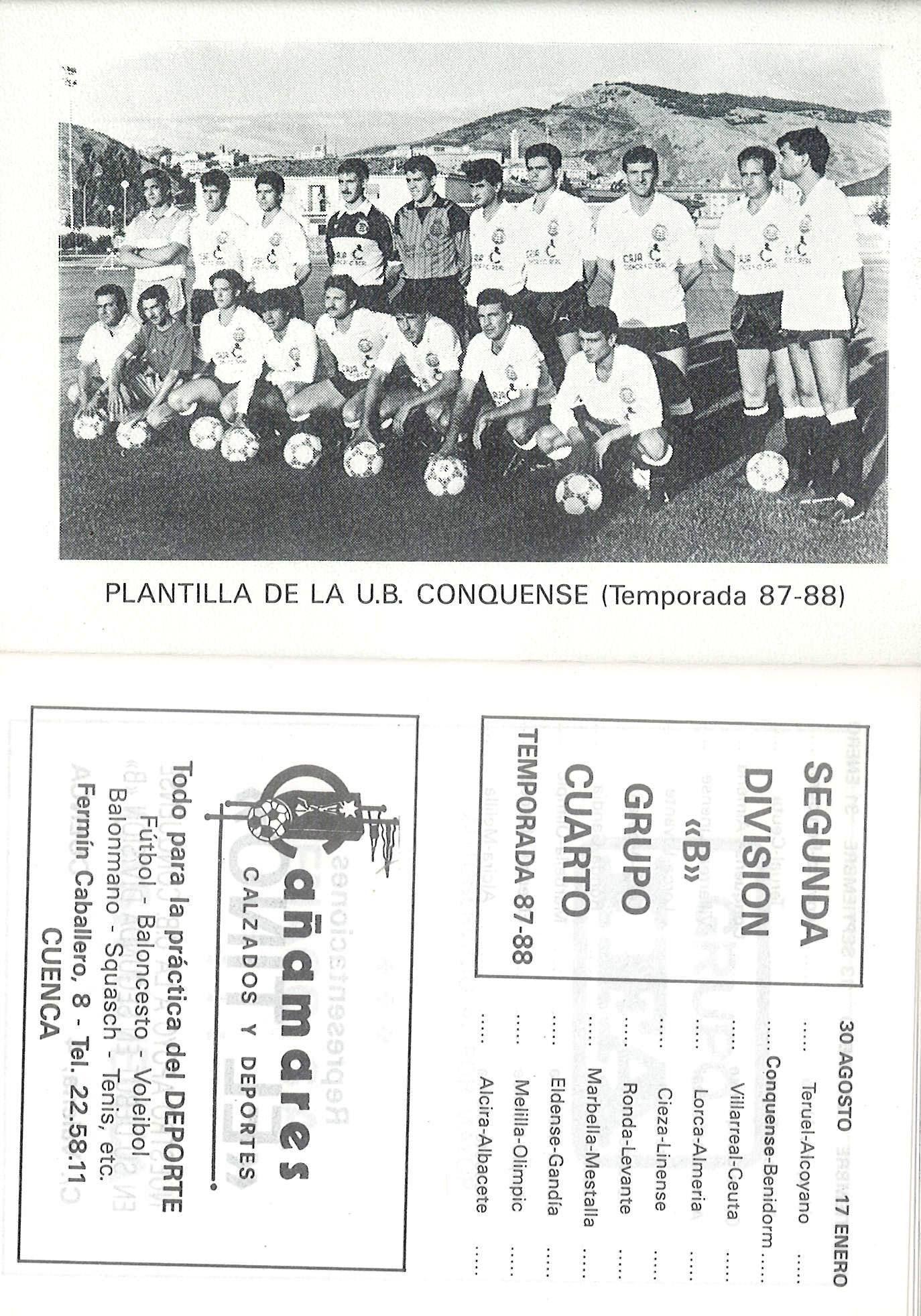 Calendario de Fútbol de la 2ª División B, Grupo IV para la Temporada ...