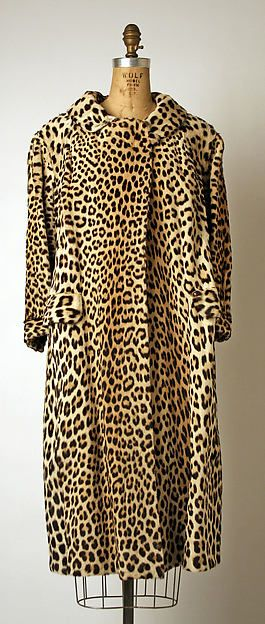 This is a 1960s fur coat, attributed to Maximillian.