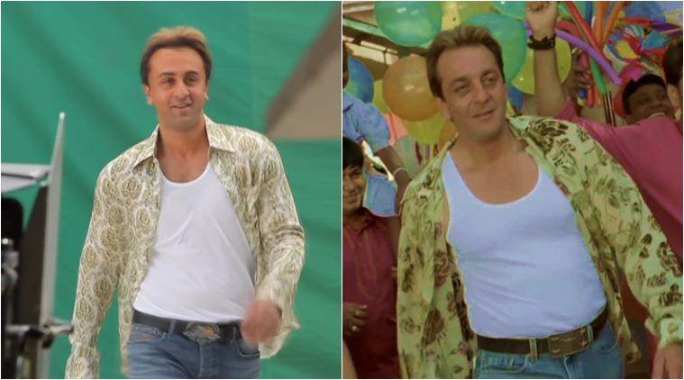 Sanju Making Here S How Ranbir Kapoor Became Munna Bhai Ranbir Kapoor Entertaining