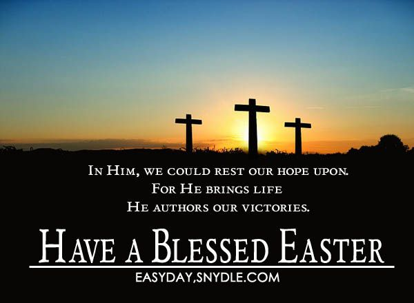 Easter greetings messages and religious easter wishes sayings easter greetings messages and religious easter wishes easyday m4hsunfo