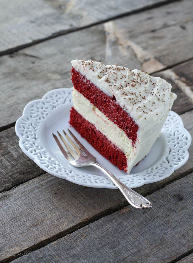 Love Cheesecake Love Red Velvet Cake Let S Put A Cheesecake Inside A Red Velvet Cake Desserts Cheesecake Recipes Food