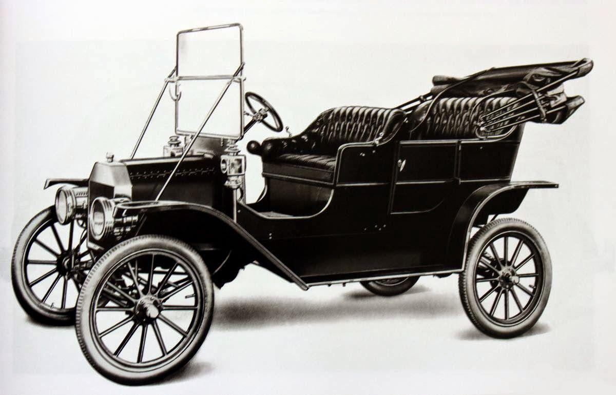 Model T Ford Forum Evolution Of The Ford Car Poster Biler