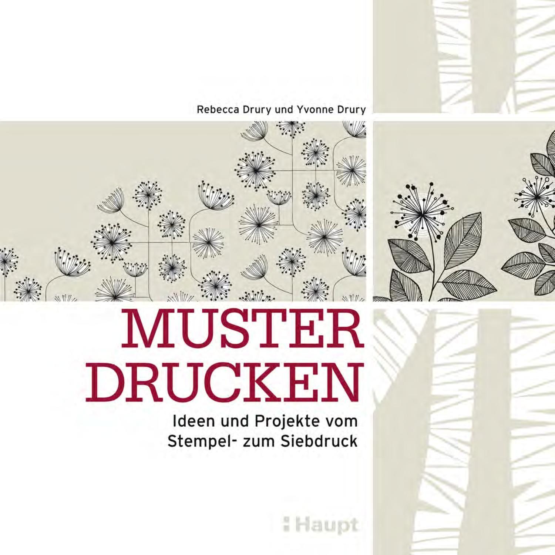 drury muster books pinterest drucken siebdruck und stempel. Black Bedroom Furniture Sets. Home Design Ideas