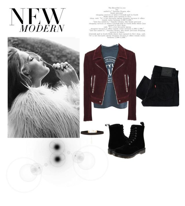 """Suade Zen"" by foxescitys on Polyvore featuring beauty, Levi's, Dr. Martens and Balenciaga"