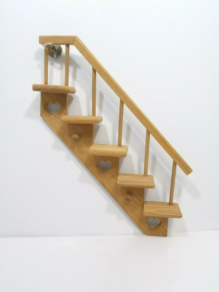 Shelves Wood Banister Staircase 5 Step Wall Nic Knack Shelf With Pegs Unknown Americana Wood Banister Banisters Wood