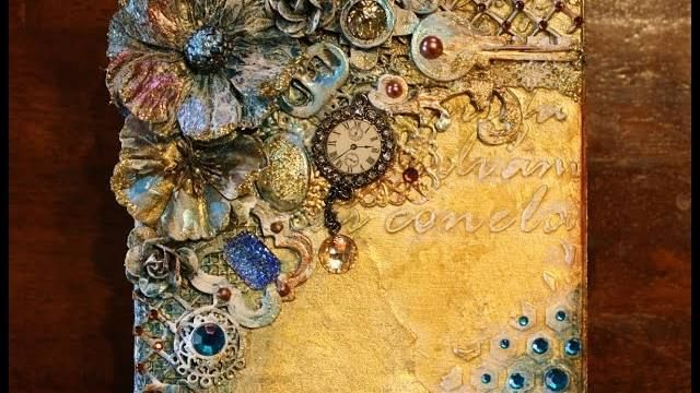 "Gabrielle Pollacco: ""Mixed Media Steampunk Style Keepsake Box"" and more videos"
