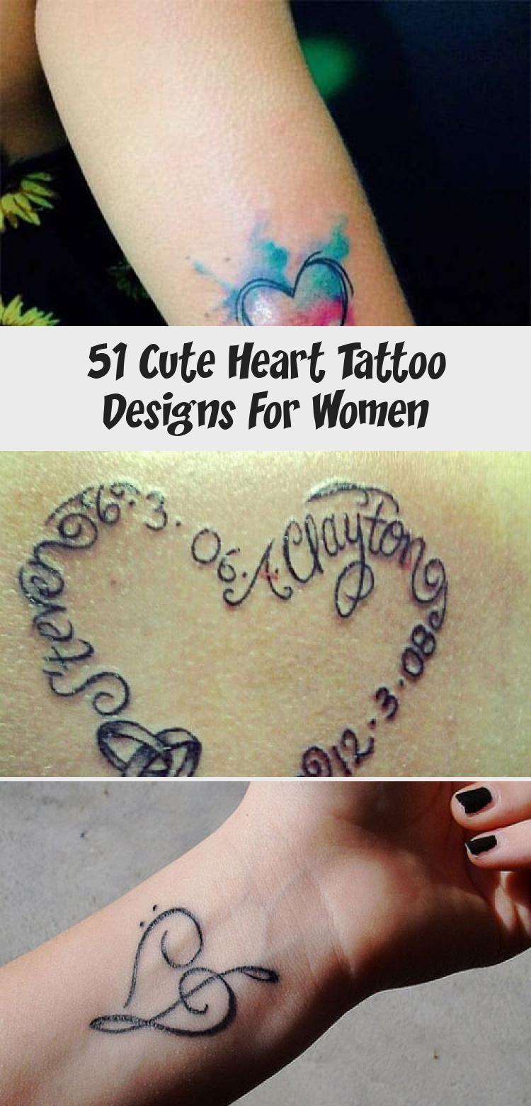 Heart Tattoo Ideas for Women Fingerprint Heart