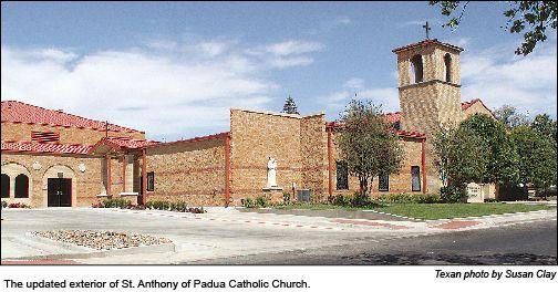 St Anthony Of Padua Catholic Church 411 E Texas Blvd Dalhart Tx Saint Anthony Of Padua House Styles Catholic Church