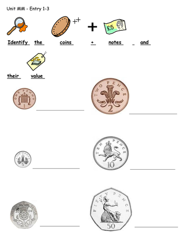 identify money and activities teaching money money activities money worksheets. Black Bedroom Furniture Sets. Home Design Ideas