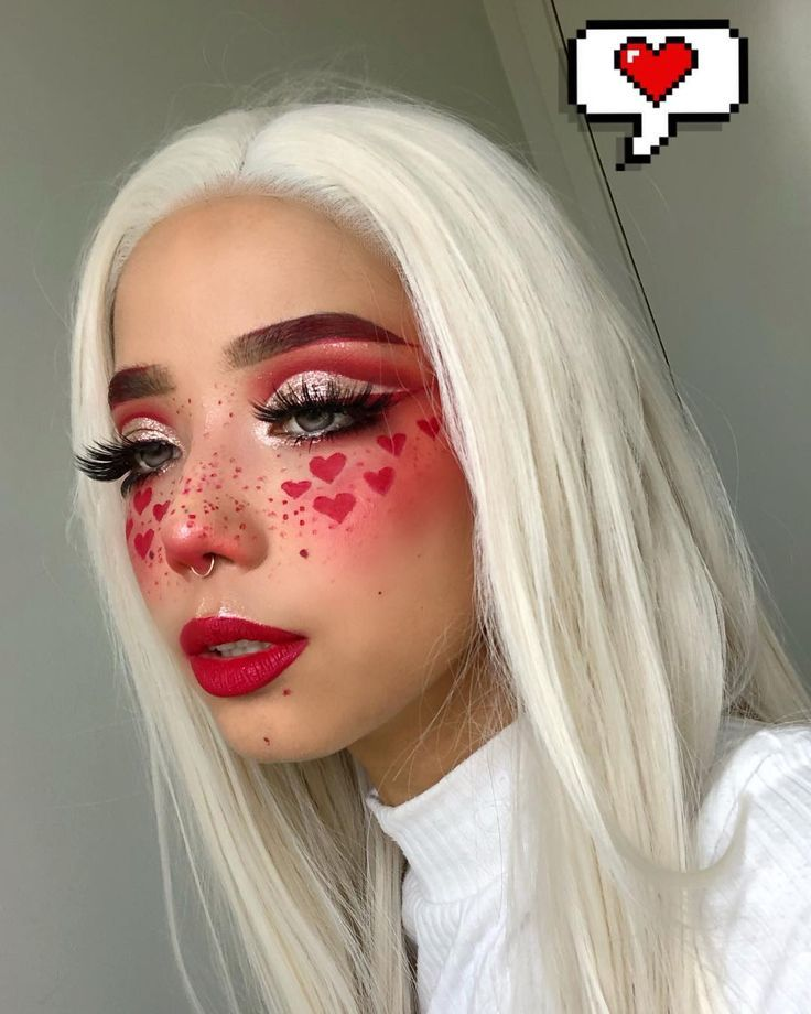 ~❤️❤️❤️~ Makeup insp | Halloween ?
