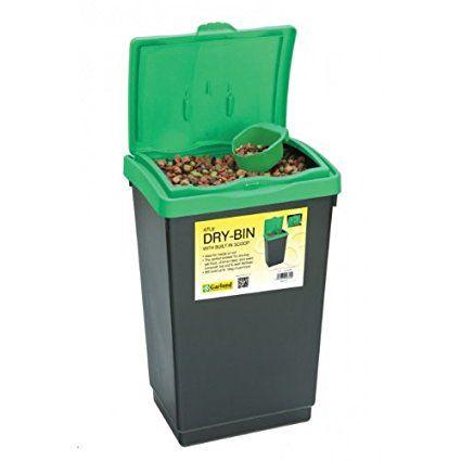 47 L Litre Heavy Duty Plastic Birds Dog Cat Litter Box Pet Food