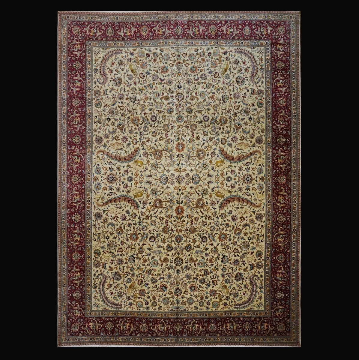 1140747 Persian Tabriz 12 2x16 9 Circa 1940 Fine Rugs Rug Cleaning Services Rug Store