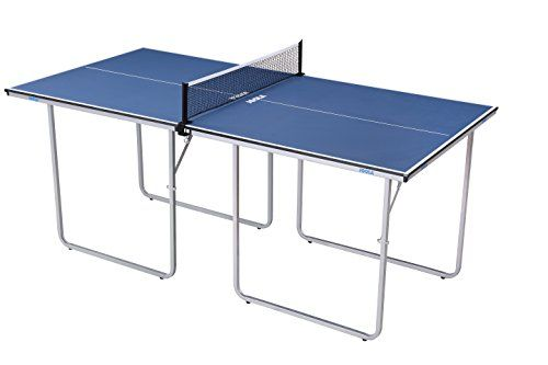 0f4551e887b JOOLA Midsize Compact Table Tennis Table Great for Small Spaces and  Apartments – Multi-Use Free Standing Table - Compact Storage Fits in Most  Closets - Net ...
