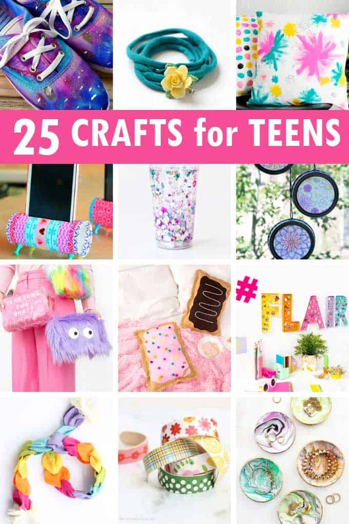 19++ Crafts for tweens to make and sell information