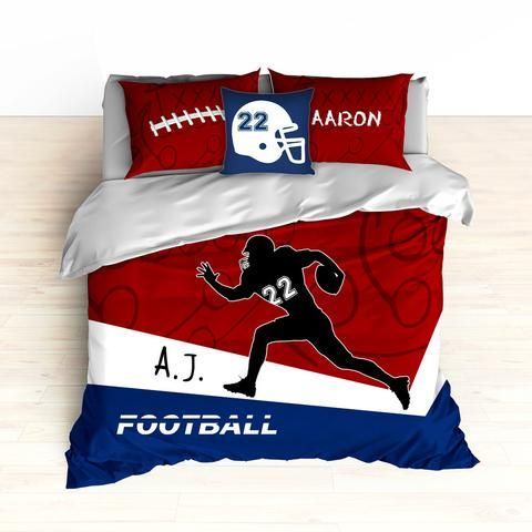 Football Theme Bedding