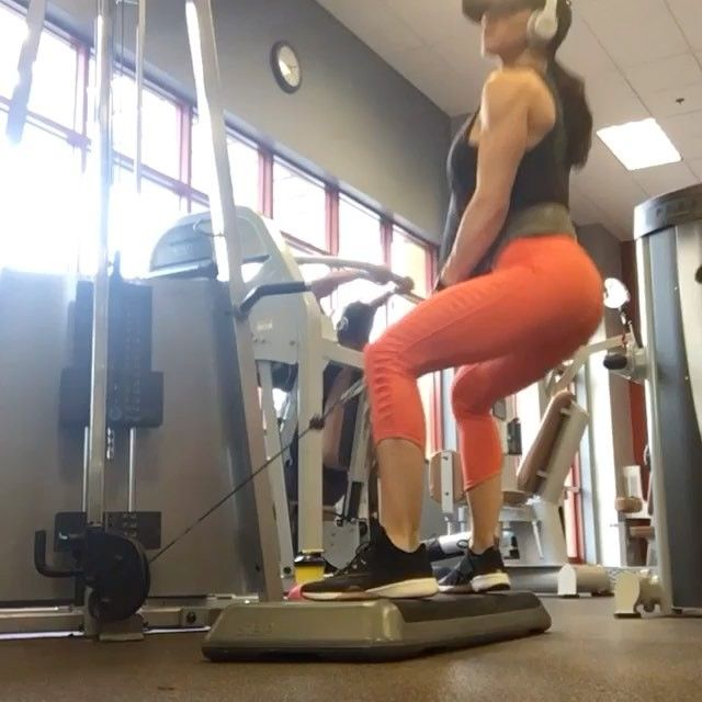 Here's a new favorite glute exercise for ya! Make sure your toes are pointed slightly out , a little wider than shoulder width apart, and make sure to push through your heels!  I am doing about 130lbs here.... Give it a try...I love the burn! 🍑🍑. #glutes #booty🍑 #glutesthatsalute #operationbooty #surgesupplements