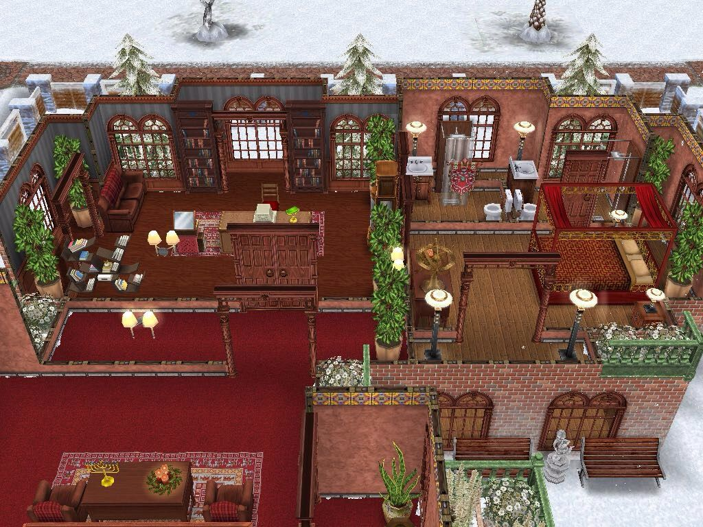 House 89 level 2 sims simsfreeplay simshousedesign con