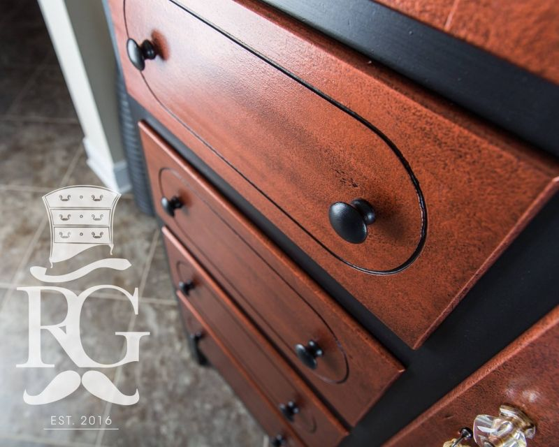 Copper Pearl Effects Cabinet General Finishes Design Center