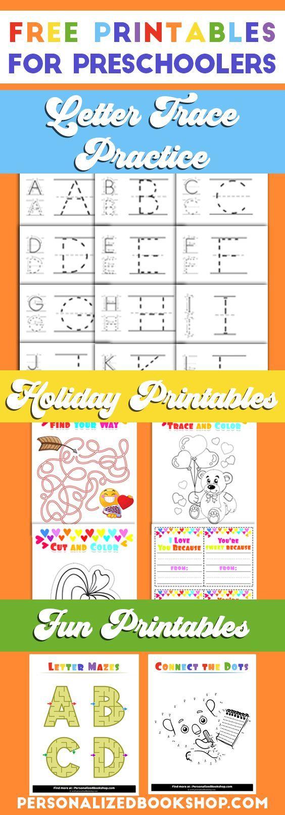 Free Printable Preschool Worksheets Tracing Letters Preschool