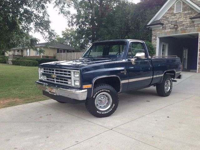Sell 1987 Chevrolet Silverado 2000 Classic Trucks Classic Cars
