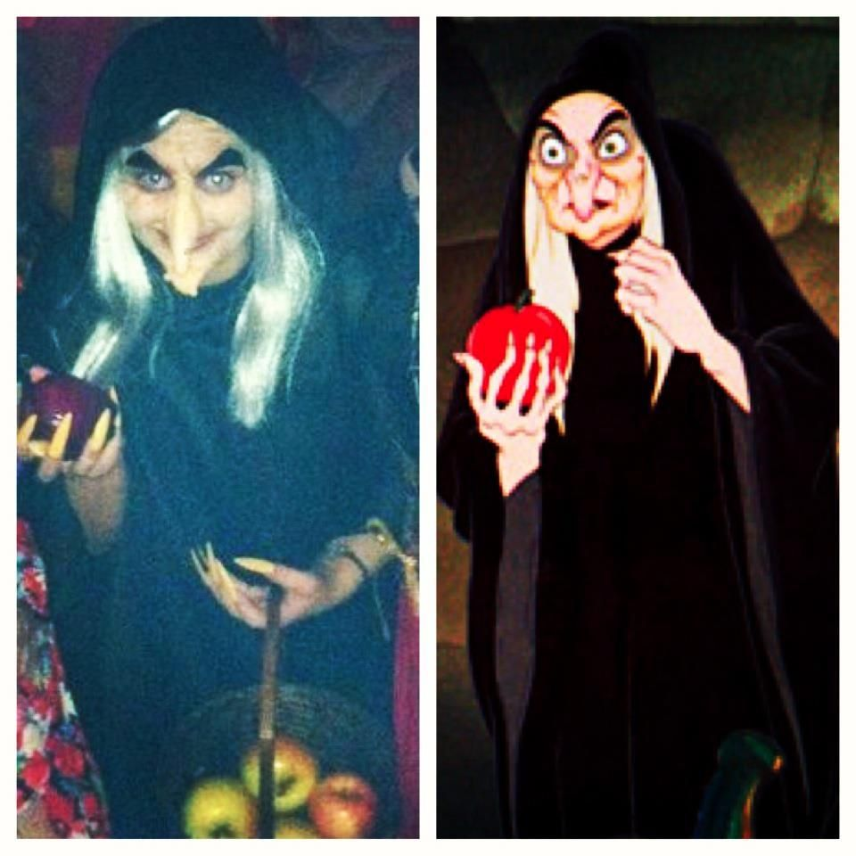 Old hag from Snow White...this is actually my costume this year ...