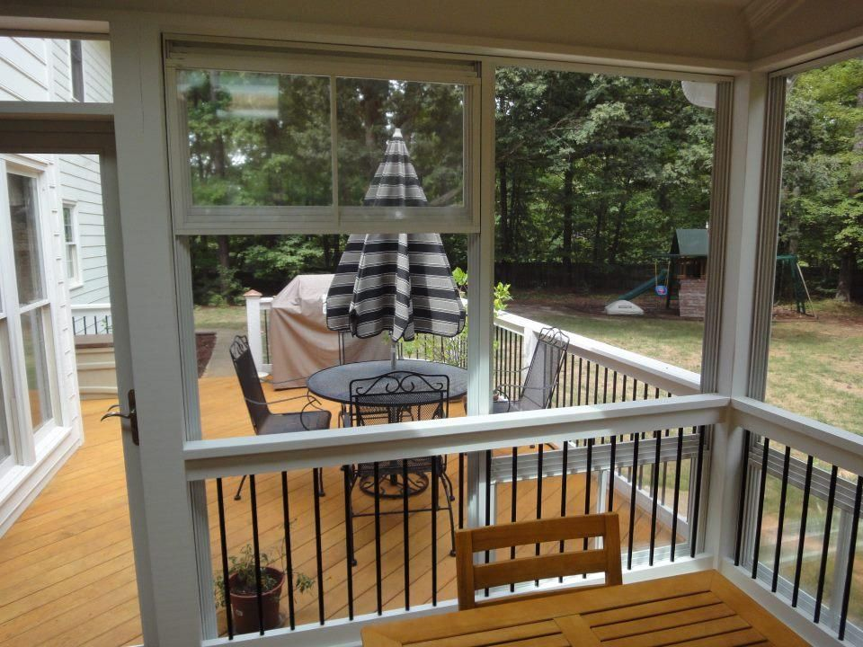 Eze Breeze Windows Raleigh By Raleigh Sunrooms | Three (3) Season Rooms |  Eze