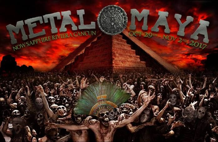CROWBAR, WHITECHAPEL & More Added To First-Ever Metal Maya Festival