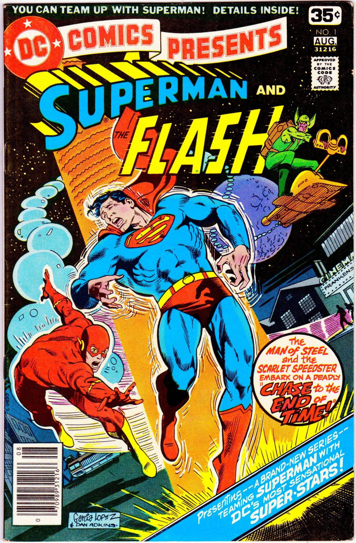 Dc comics present 1 august 1978 dc comics grade vf dc