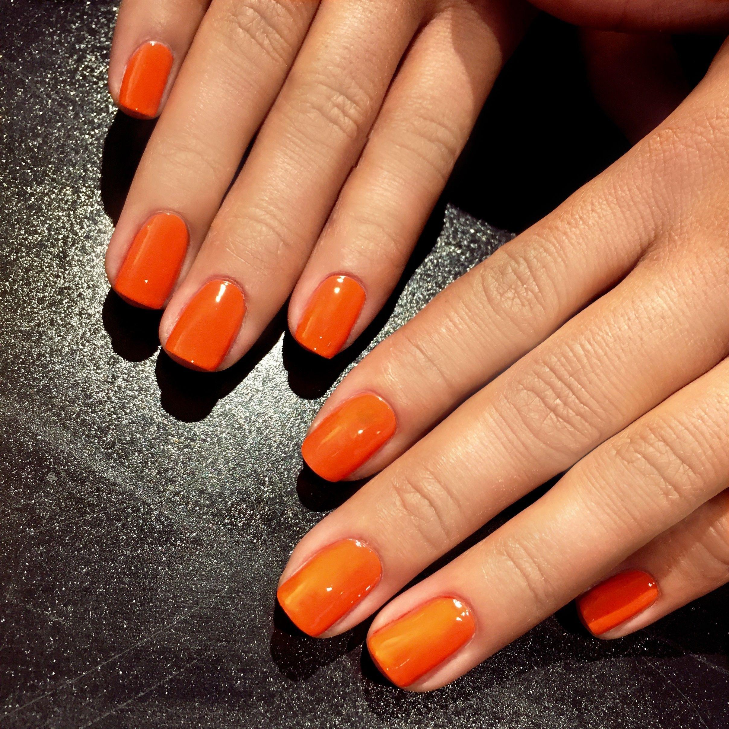 Jinsoon Enflammèe  Ml Orange nailart  Nail Art  Pinterest