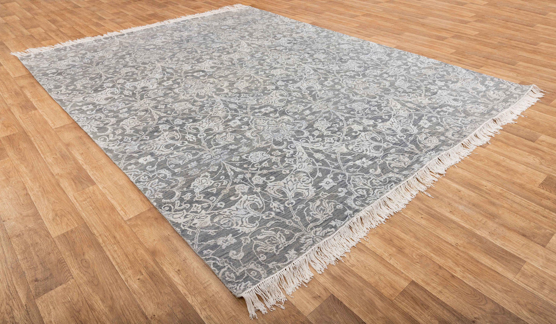 8x10 Rug Modern Wool Handmade 307