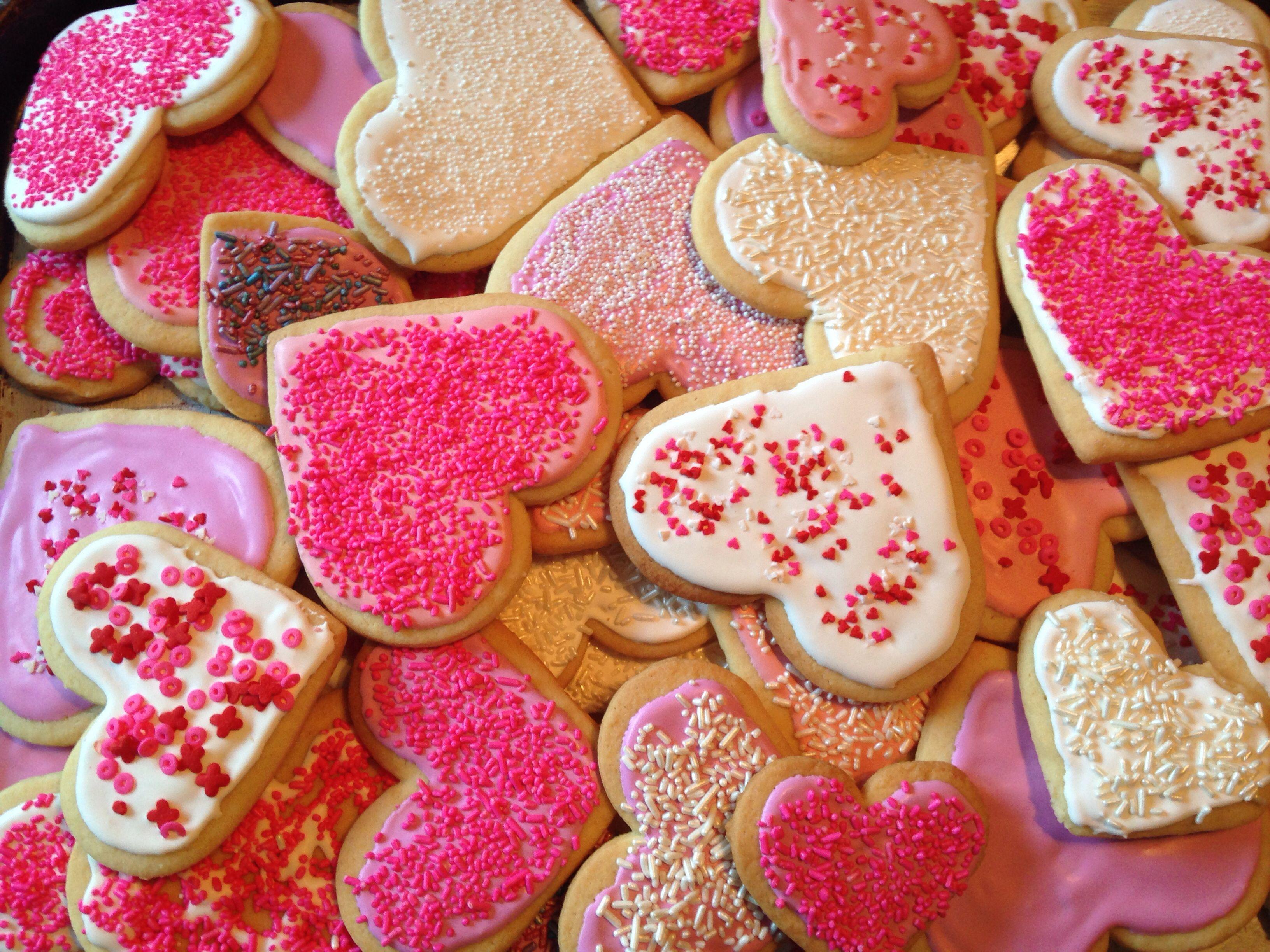 Valentine cookie love!