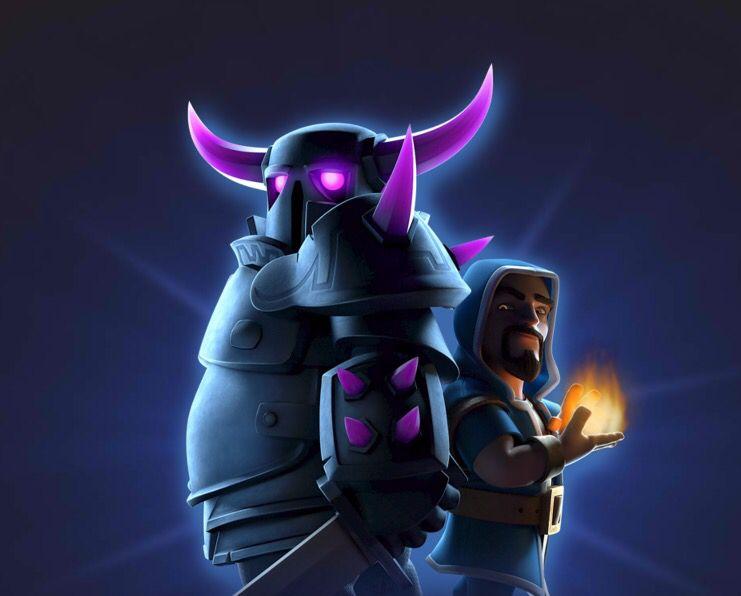Pekka And Wizard Tandem Clash Of Clan Pinterest Tandem