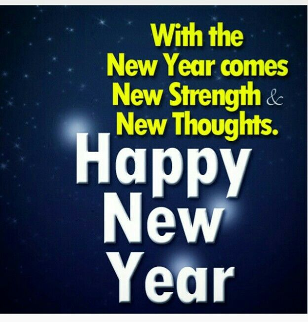 New Year new strength