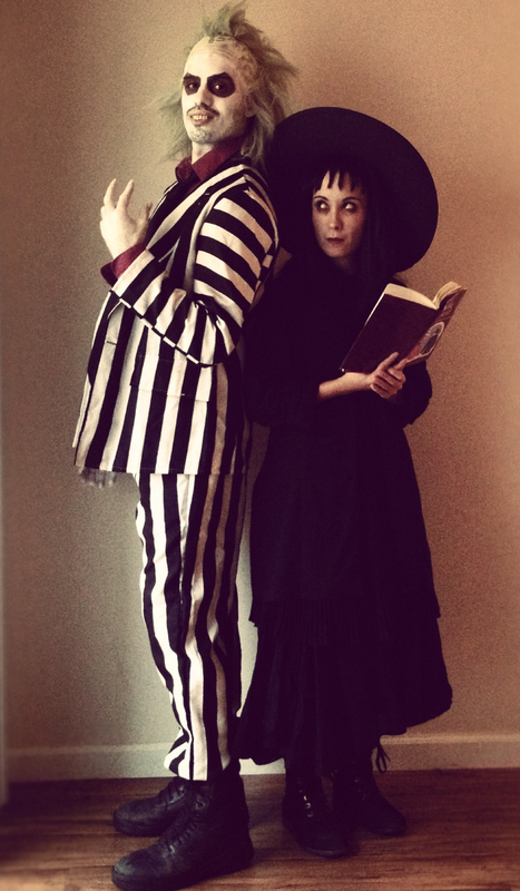 D00r S Halloween Costume Contest Couple Entry Submisision Beetlejuice Lydia Beetlejuice Costume Original Halloween Costumes Best Couples Costumes