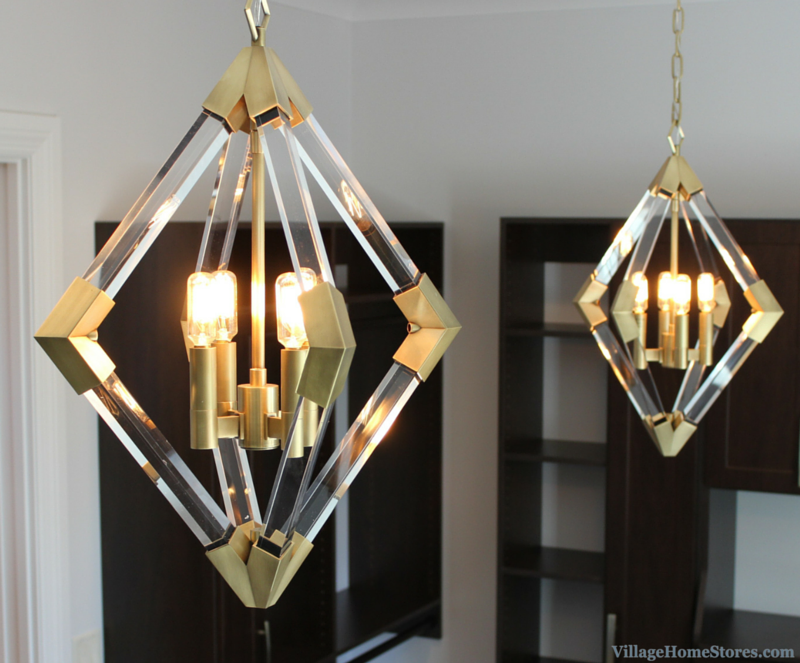 hudson valley lyons pendants in aged brass lighting from the
