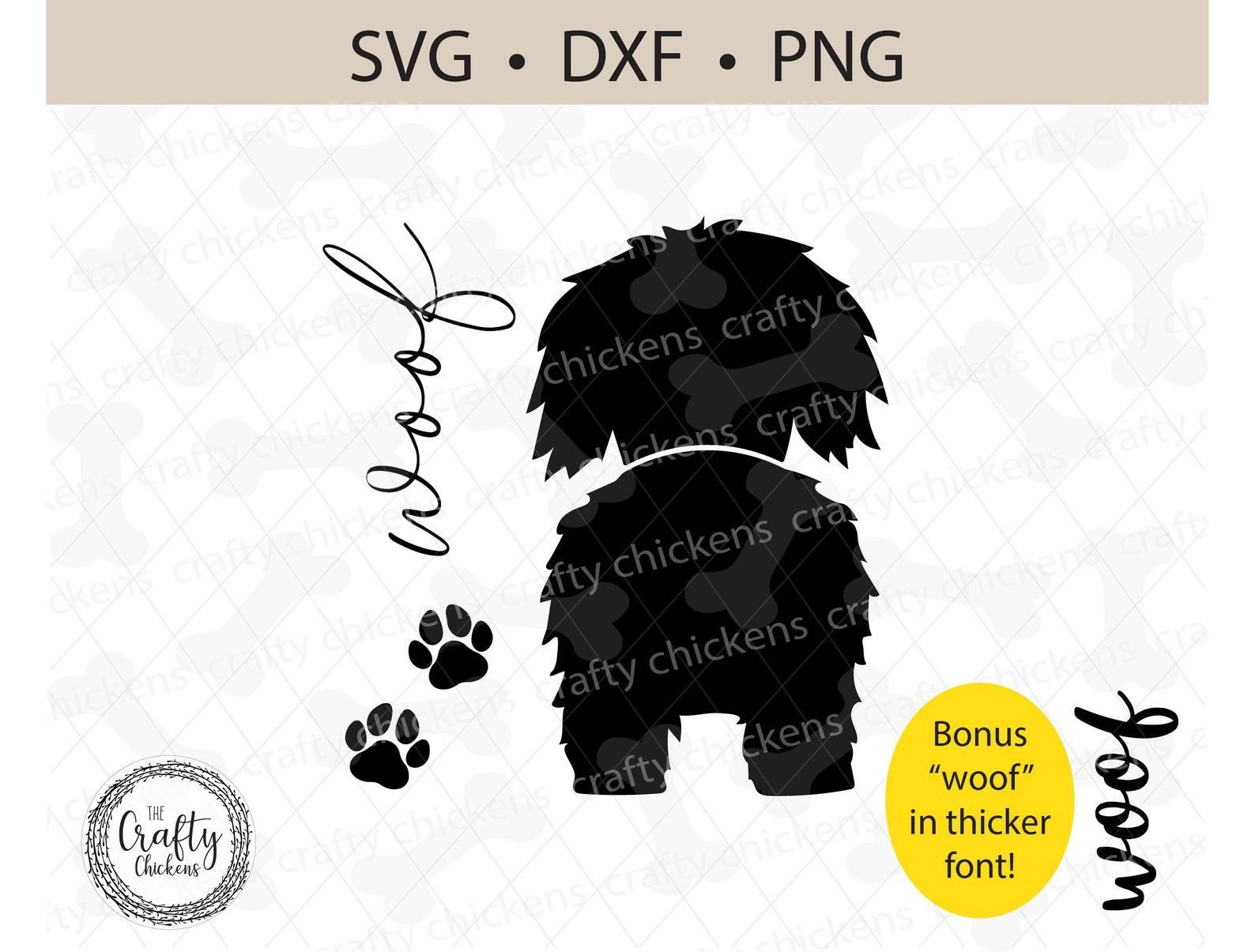 Shaggy Dog Svg Shih Tzu Toy Poodle Mix Maltese Digital Etsy In 2021 Svg Dog Silhouette Dogs