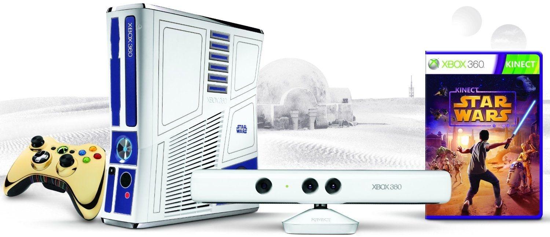 Video Game Console Xbox 360 Slim Star Wars / 320GB + Jogo