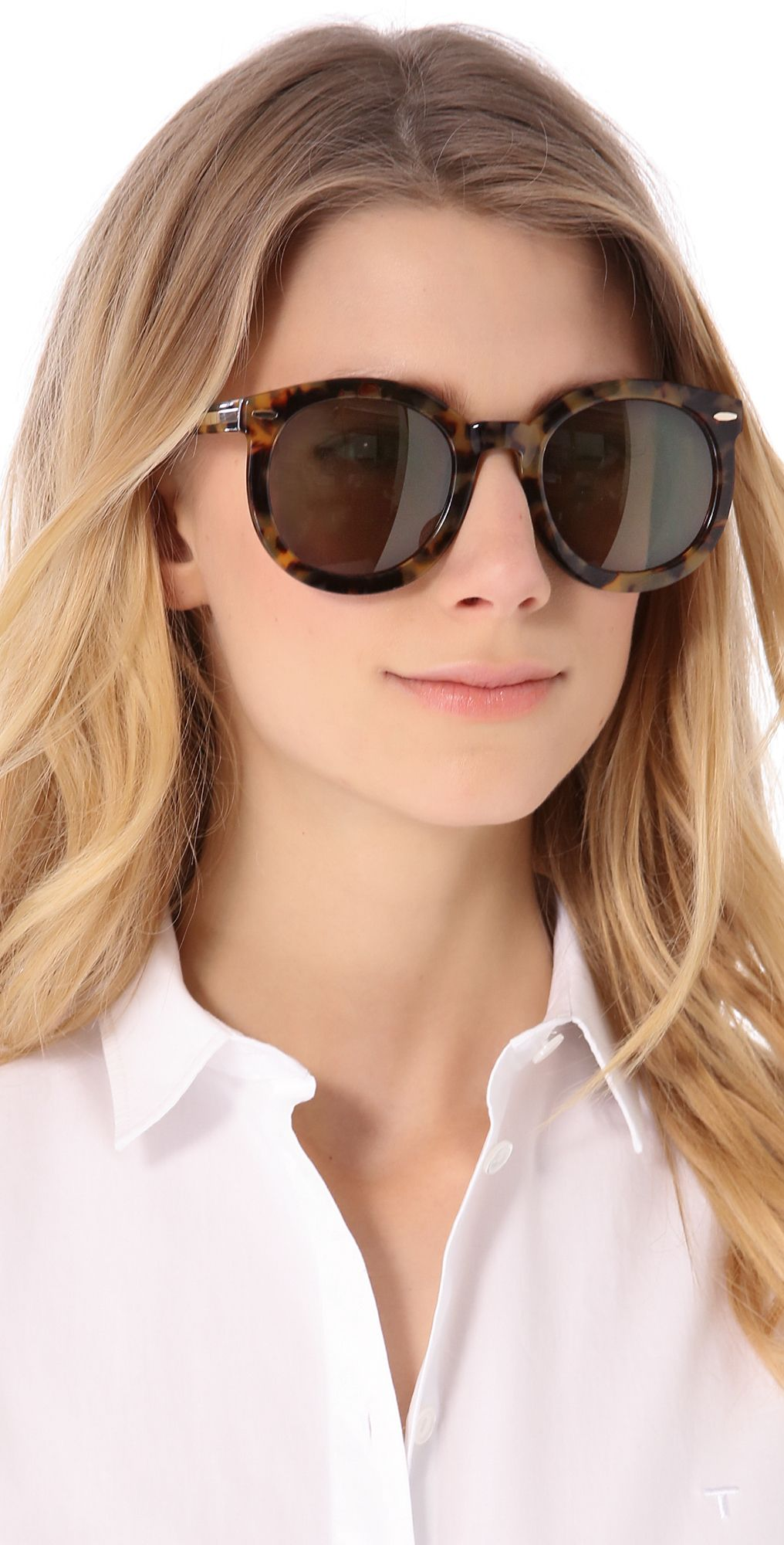 767e2b3d6a0 Karen Walker Super Duper Strength Sunglasses