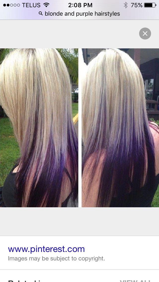 Purple Undertone Hair Hair Styles Hair Highlights