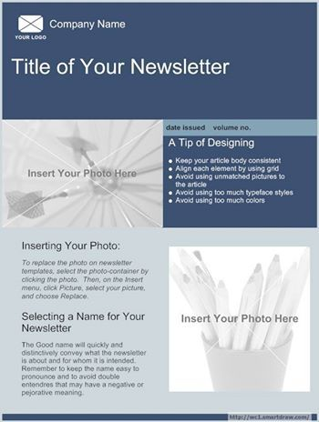 Always Maximize Your Company Newsletter In Here You Can Show Off