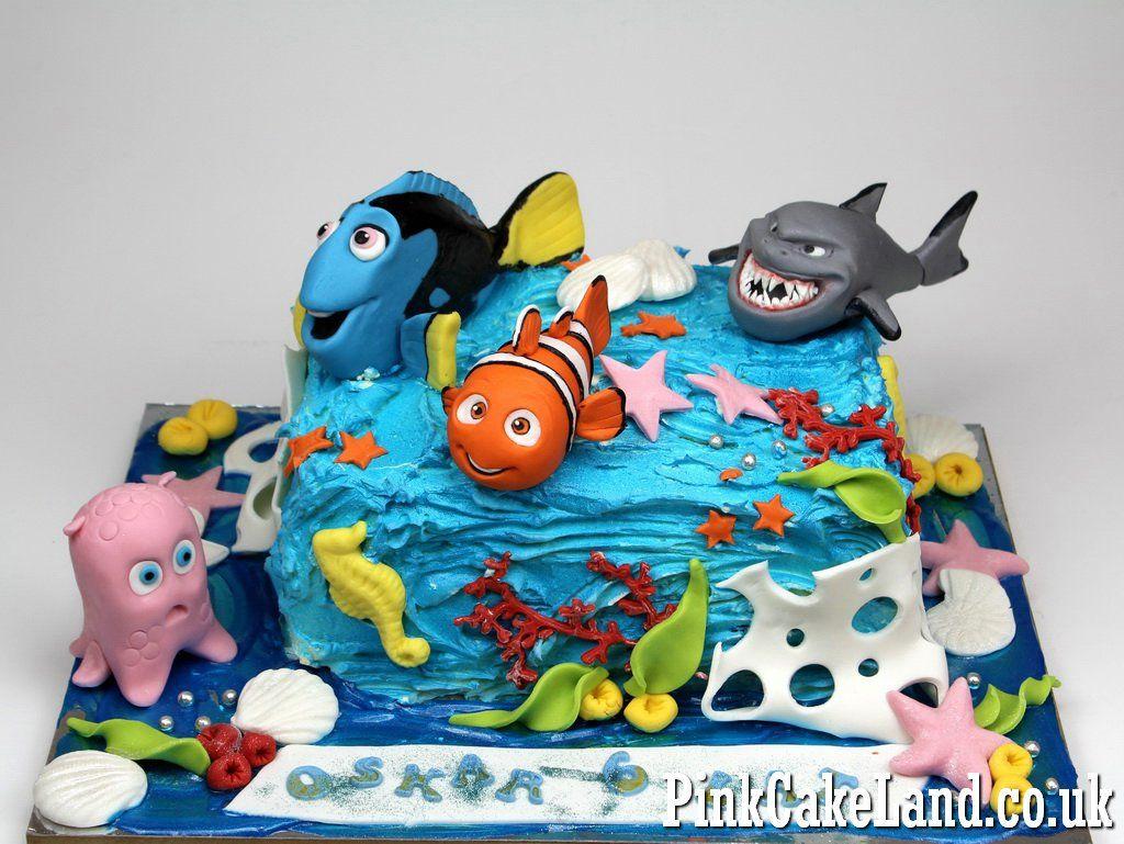 Finding Nemo Birthday Cake Delivered In London Finding Nemo Sea